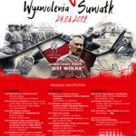 100. rocznica odzyskania niepodległości przez Suwałki 2019 afisz KOREKTA 2