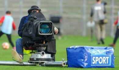 OPOLE 24.10.2019 SPORT PILKA NOZNA  FORTUNA 1 LIGA SEZON 2019/2020 ODRA OPOLE - STAL MIELEC NZ KAMERA, OPERATOR, POLSAT, TELEWIZJA, TV FOT. MIROSLAW SZOZDA / 400mm.pl